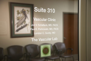 Suite 310 Vascular Clinic Door